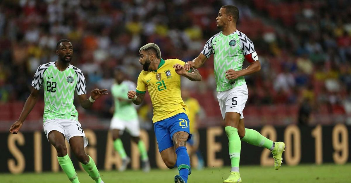 Super Eagles Praised On Twitter After Impressive Display Against Brazil