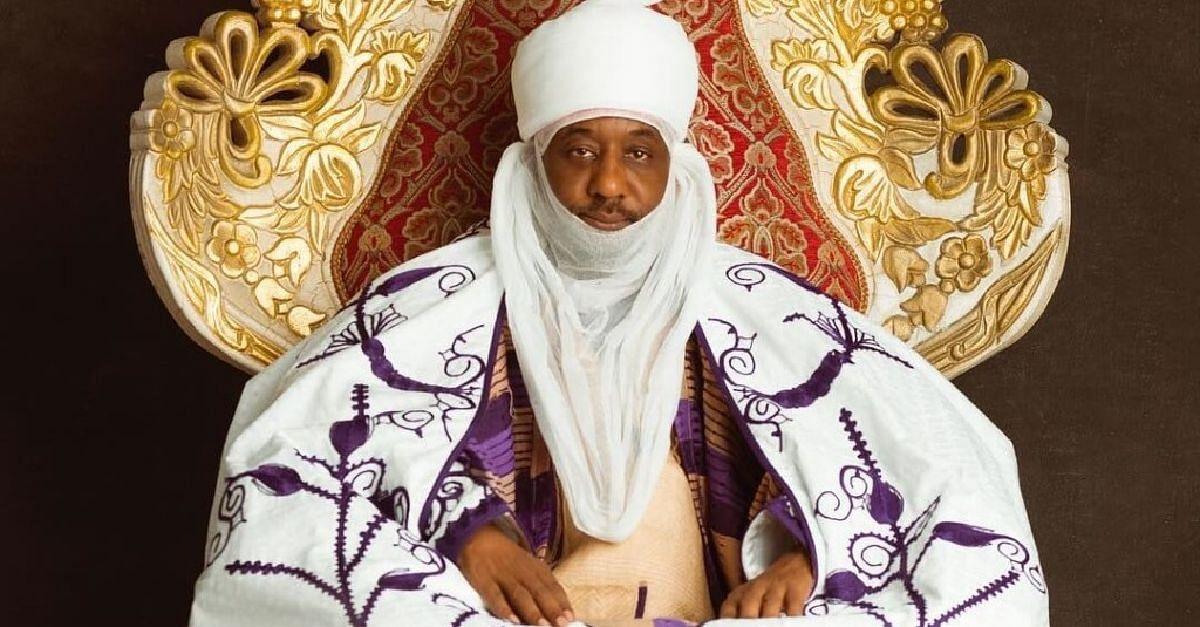 Emir Of Kano Cries As He Narrates Emotional Story