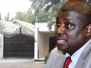 EFCC Arrests Former Chairman Of Pension Reform Task Force, Maina, In Abuja Hotel