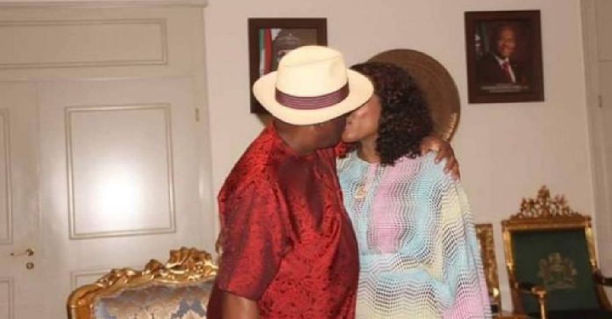 Tribunal: Wike Celebrates Victory With Romantic Kiss With Wife