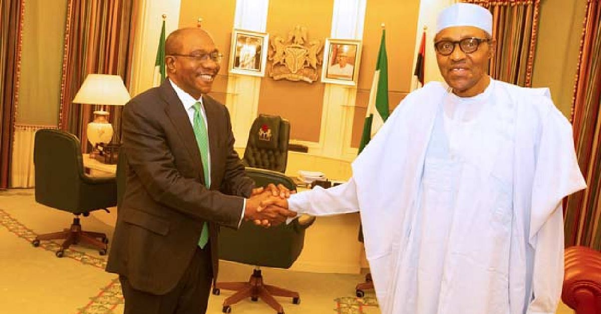 Emefiele and President Buhari