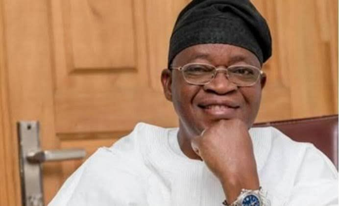 Oyetola Swears In Egbemode, 34 Other Commissioners