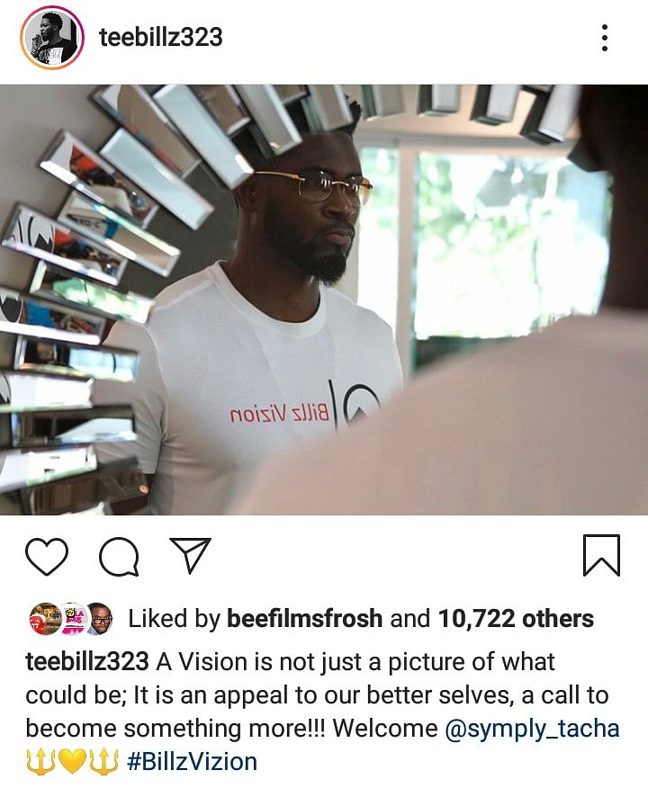 Tacha Announces Teebillz As Her New Manager In Rebranding Move