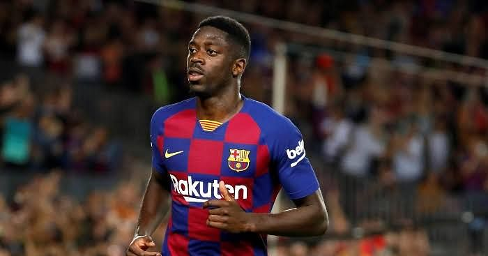 Dembele Receives 2-Match Ban, To Miss El Clasico