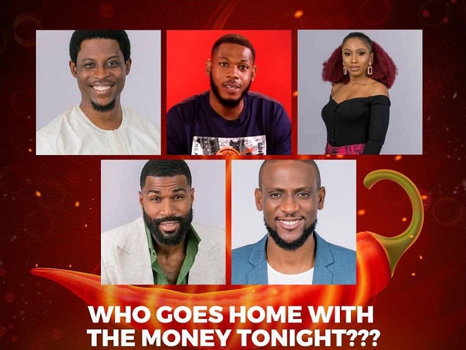 BBNaija: 5 Finalists N60million One Winner
