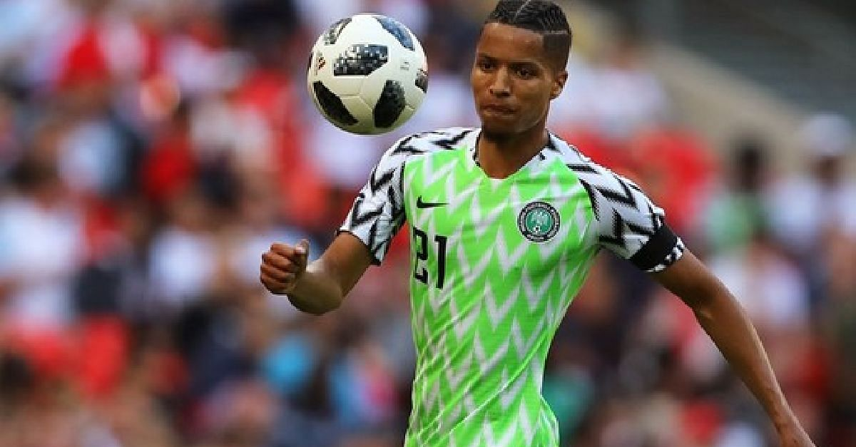 Ebuehi Called Up To Replace Omeruo In Brazil Friendly