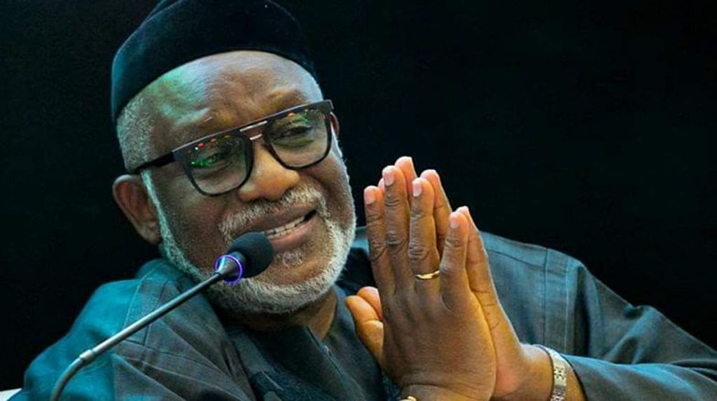 Governor Akeredolu Sends A Message To Police Over Kidnapped Judge