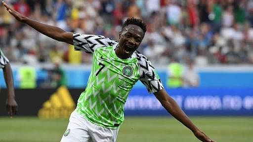 Ahmed Musa Resumes Training With His Club Al Nassr FC