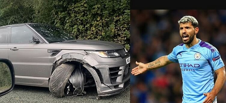 Sergio Aguero Involved In Car Crash On His Way To Manchester City Training