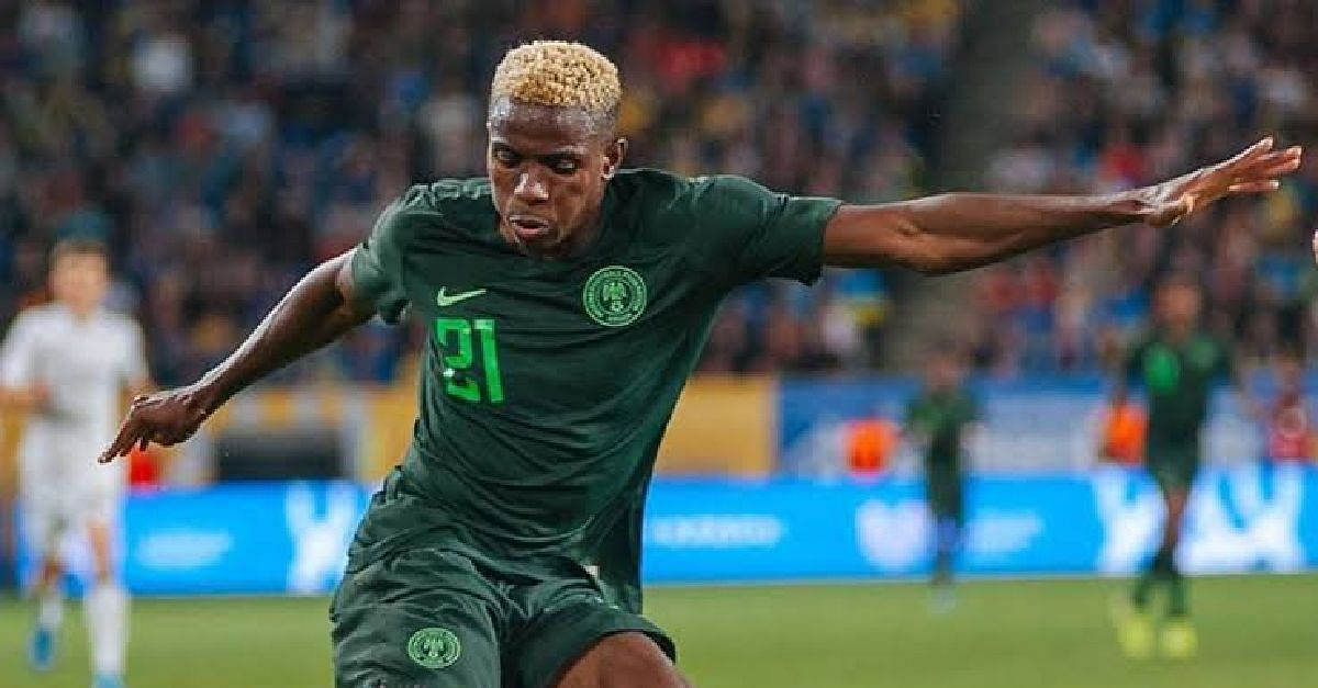Osimhen Plays Down Comparison With Former Super Eagles Striker, Odion Ighalo