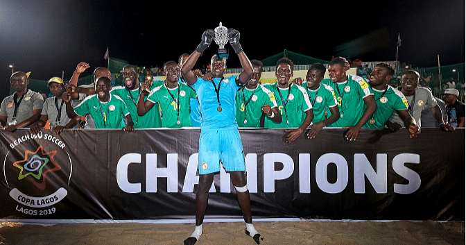 Senegal Retains COPA Lagos Soccer Title, Nigeria Finishes Second