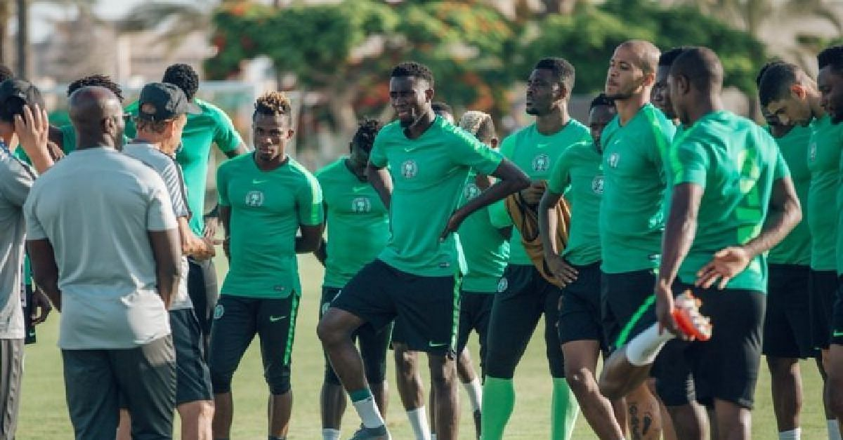Super Eagles Return To Nigeria Cheerful After Huge Win Over Lesotho