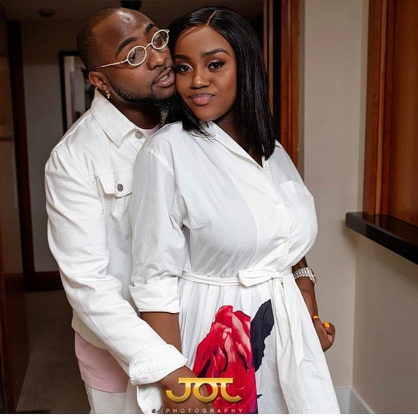 Chioma Celebrates Davido As He Turns 27