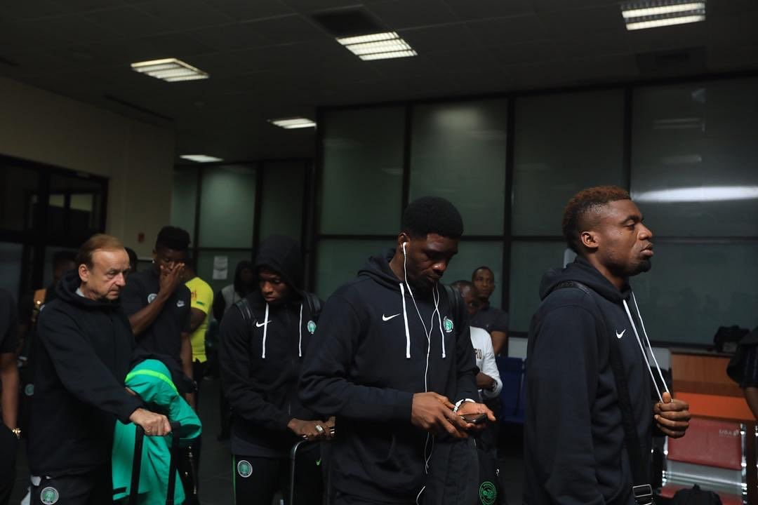 AFCON Qualifiers: Super Eagles Jet Out To Maseru For Clash Against Lesotho