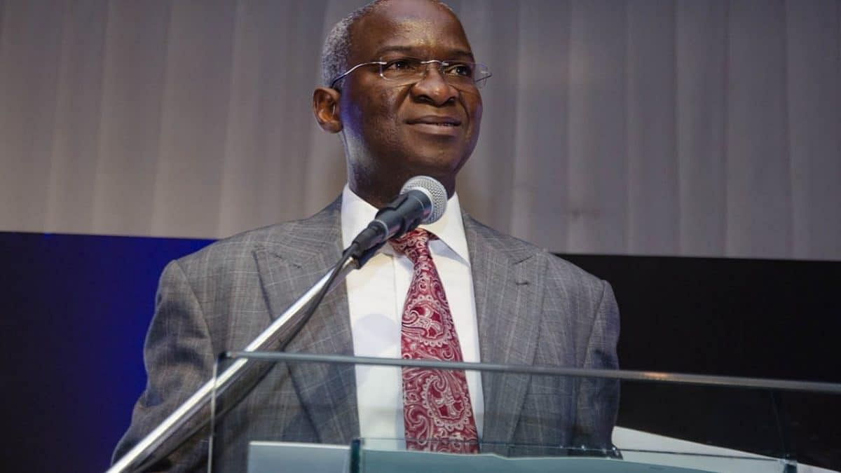 Minister of Works and Housing, Babatunde Raji Fashola