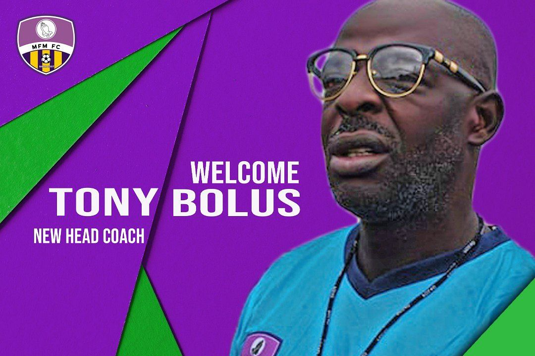 It's Possible For US To Win The League - MFM FC Coach, Tony Bolus