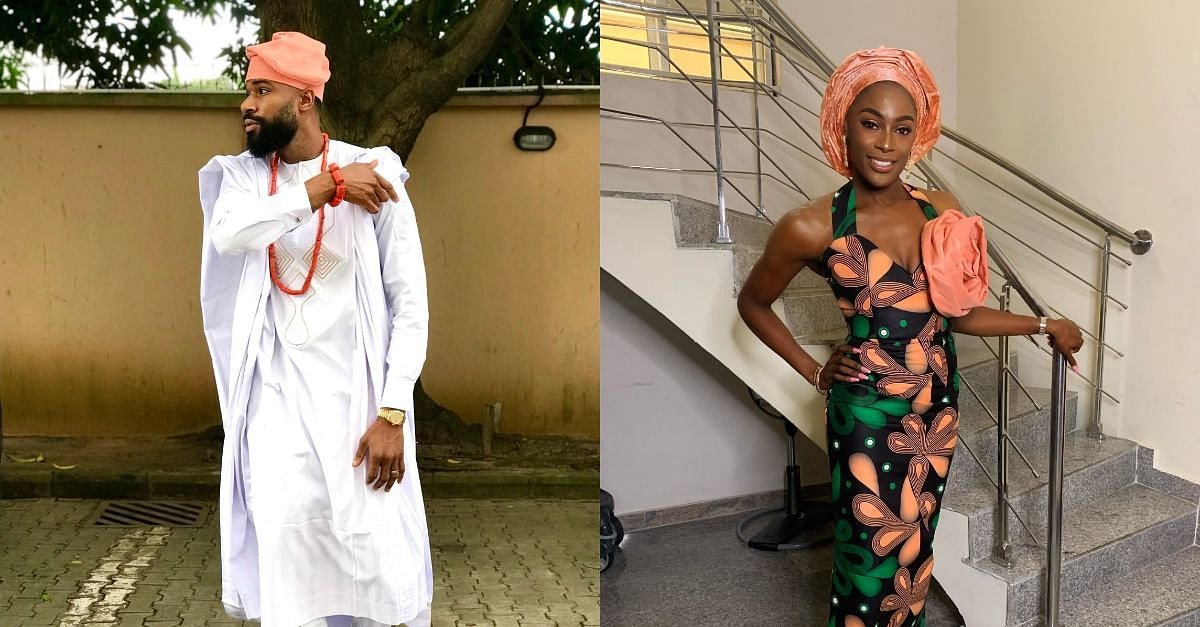 BBNaija's Mike And Wife, Perri, Step Out In Traditional Attires