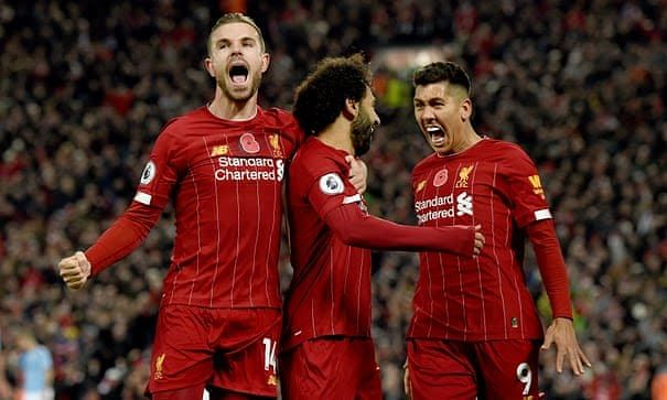 Liverpool 3-1 Man City: Reds Take Big Step In  League Title Race