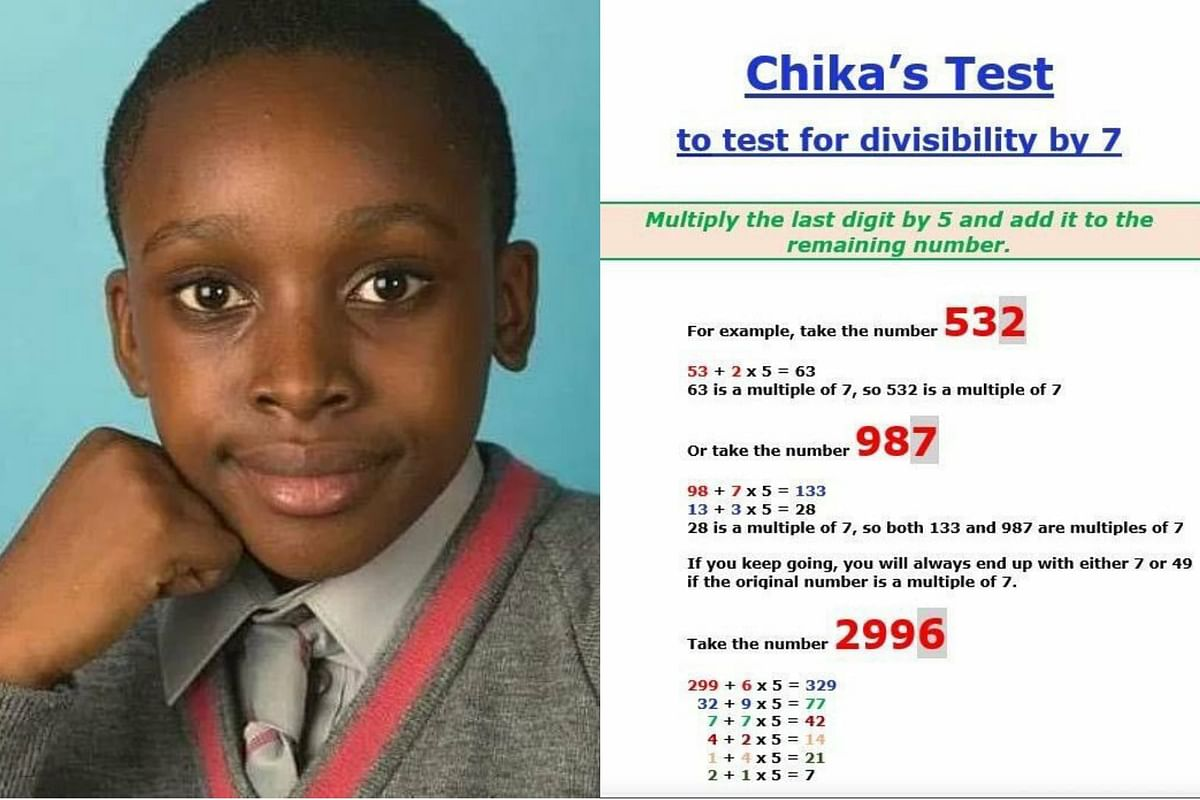 12-Year-Old Nigerian Boy Awarded For Discovering New Maths Formula