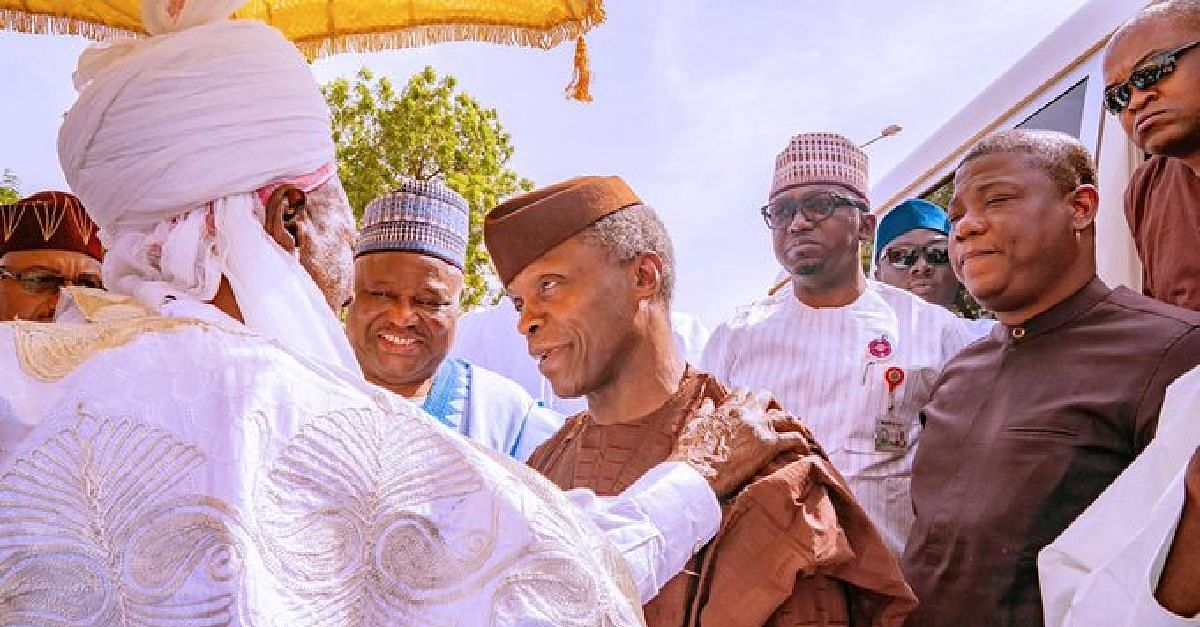 Emir Of Daura Hails  Osinbajo, Says He is The  Most Trustworthy VP Ever