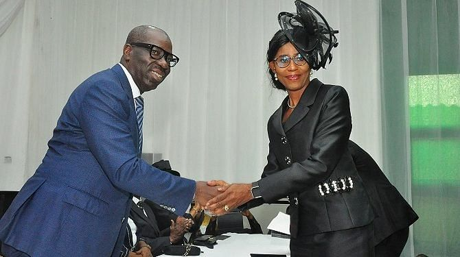 Obaseki and the new Chief Justice