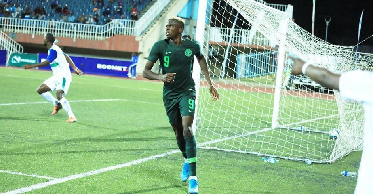 Osimhen's Performance For Nigeria Against Lesotho Celebrated