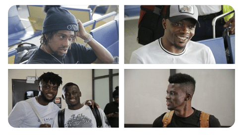 Super Eagles Stars Arrive Camp For Benin, Lesotho AFCON Qualifier Games