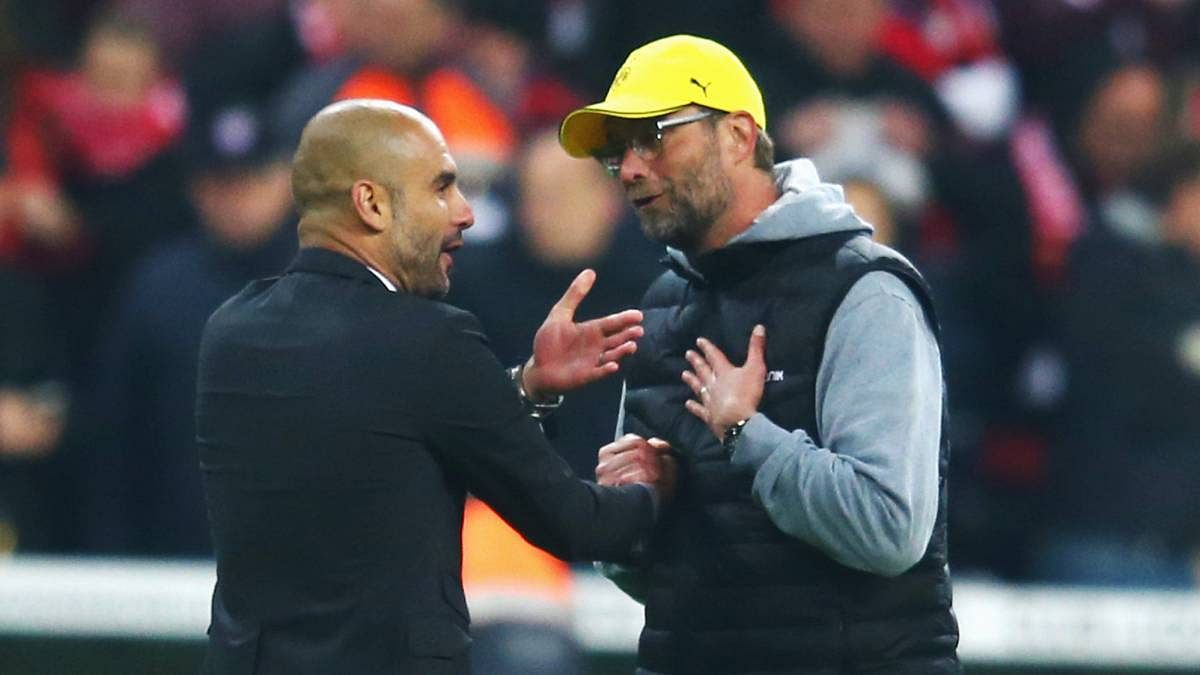 Klopp Hits Back At Guardiola Over Diving Comments