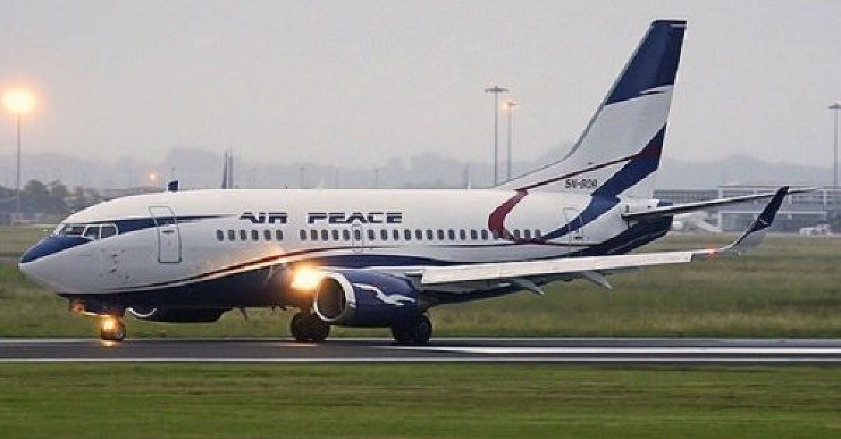 Air Peace Takes Delivery Of 160-Seater B737-800 Aircraft