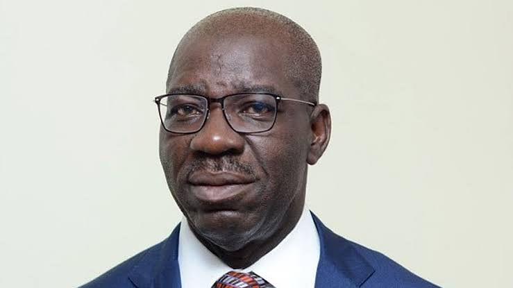 Obaseki with the new chief justice