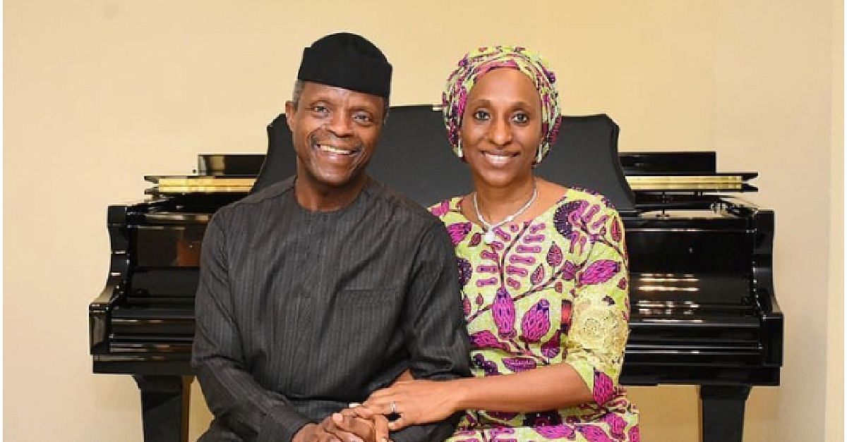 Yemi Osinbajo And Wife Celebrate 30th Wedding Anniversary