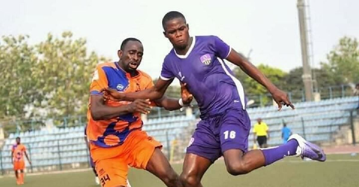 We Are Not Used To Playing On Natural Grass - MFM Striker, Adeniji Kabir