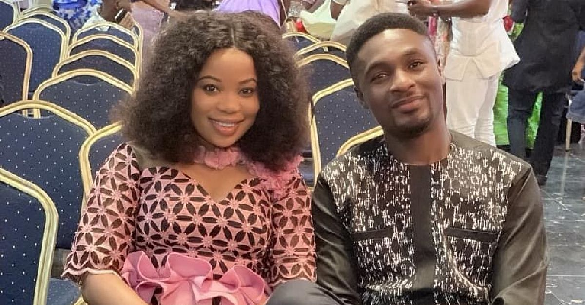 Lovebirds, Adeniyi Johnson And Wife, Step Out For Thanksgiving