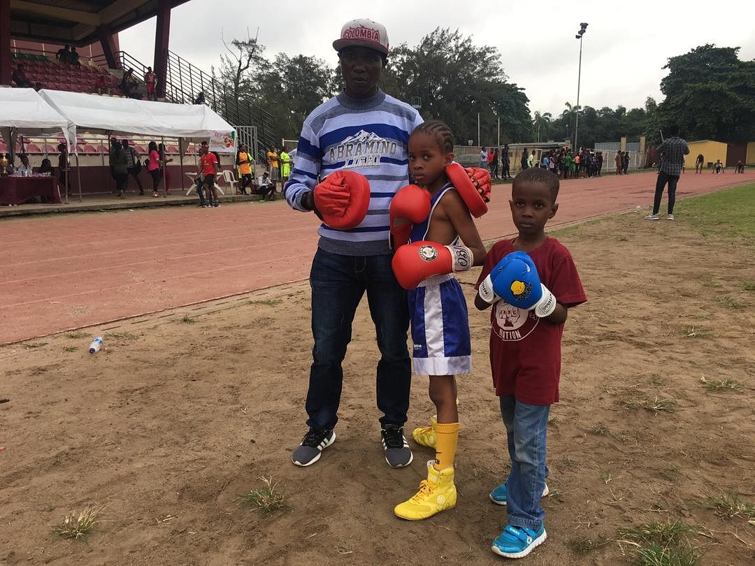 Sports Minister, Sunday Dare, Vows To Follow Up On Young Girl Whose Boxing Video Went Viral