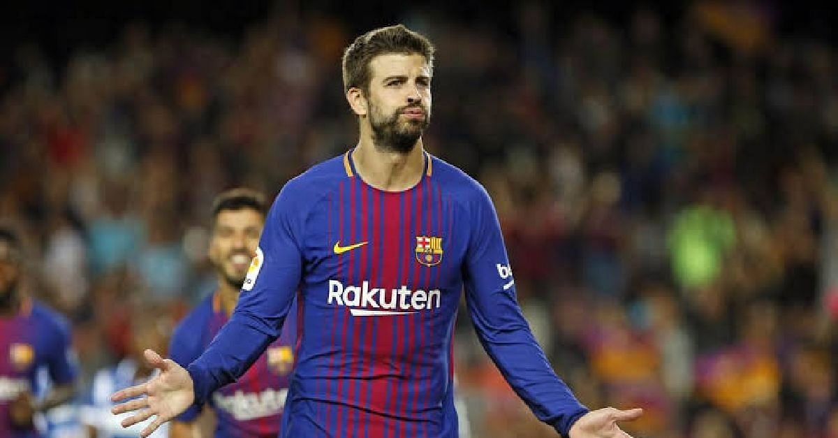 Pique Reveals Plans To Retire At Barca By 2022