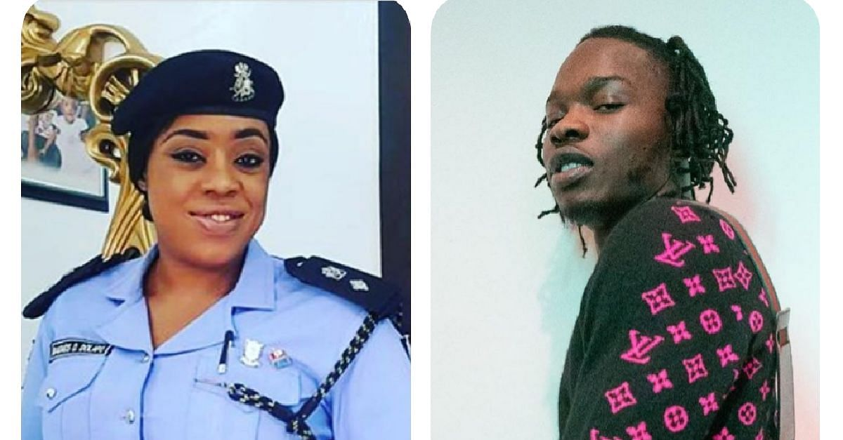 Superintendent Of Police, Dolapo Badmus, And Naira Marley Clash On Twitter
