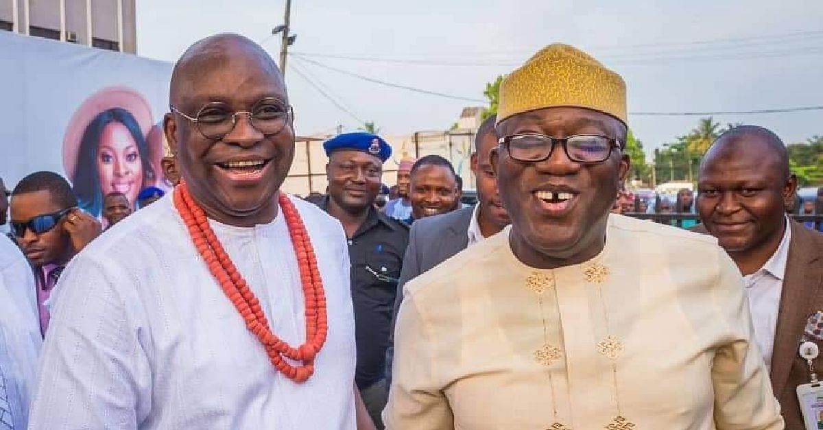 Fayemi Makes Surprise Appearance At The Wedding Of Fayose's Son In  Lagos