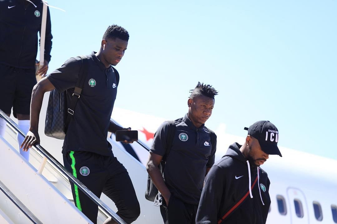 AFCON Qualifiers: Super Eagles Touch Down Maseru For Lesotho Game
