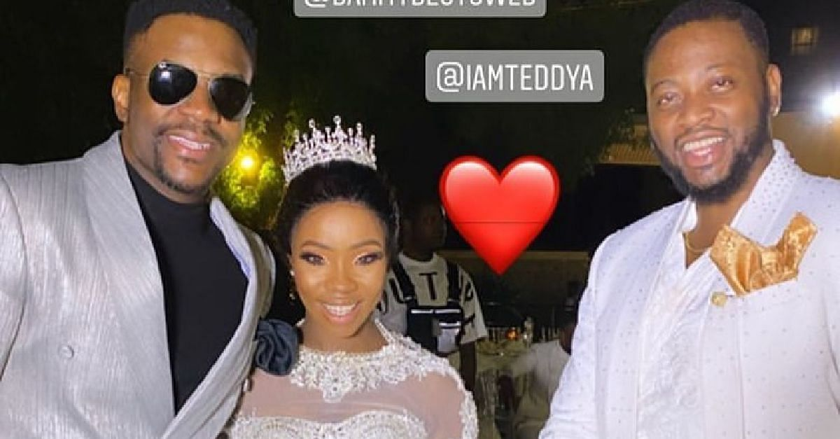 See Your Favourite Celebrities At the BamTeddy Wedding In Dubai