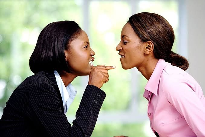 Two Ladies Seen Fighting Over 'The Love Of Their Lives' In Lagos