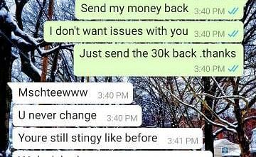 Guy Reveals How A Lady Tried To Play On His Intelligence After Sending Her 30k For Hookup