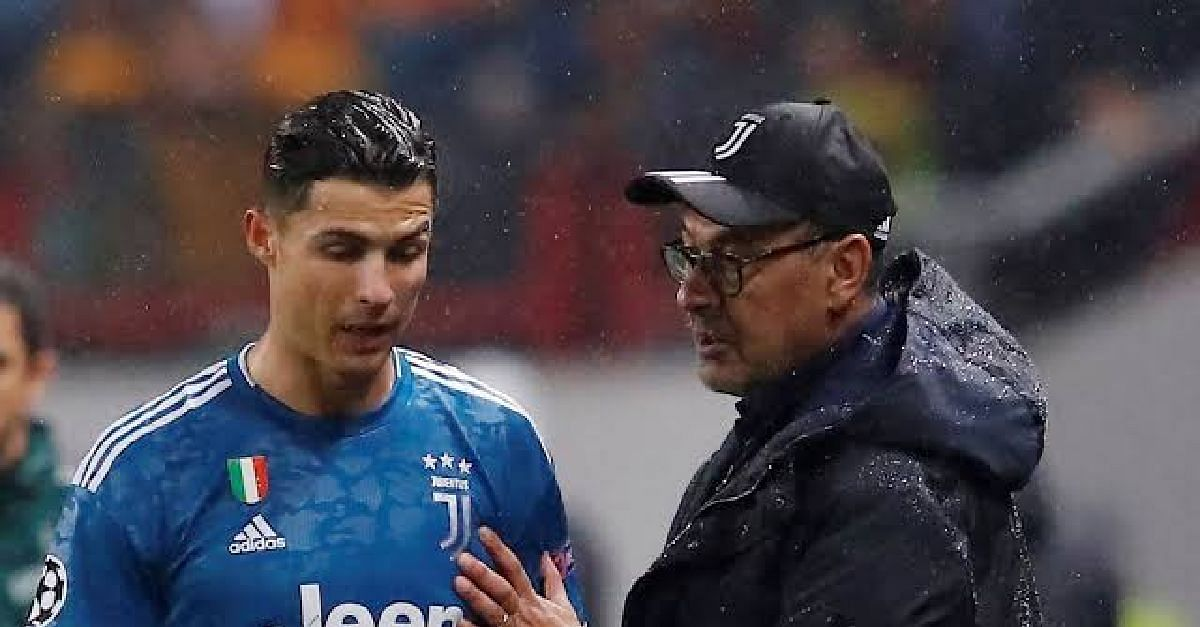 Cristiano Ronaldo Addresses The Juventus Substitution Drama
