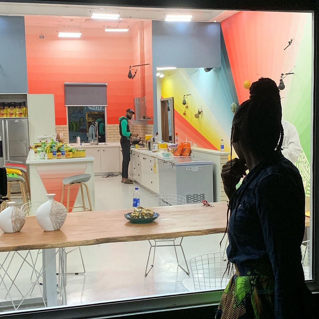 BBNaija: Mike's Wife Reveals She Visited Him In The House