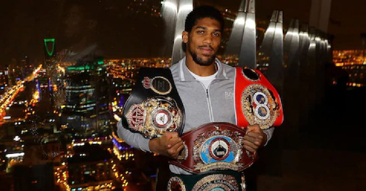Anthony Joshua Could Defend  Heavyweight World Titles In Nigeria