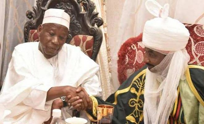 Emir Of Kano, Lamido Sanusi, Accepts Ganduje's Appointment Offer