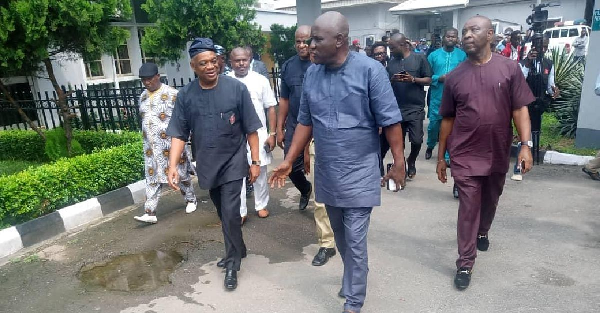 Kalu Bags 12-Year Jail Term, Begs Not To Be Handcuffed