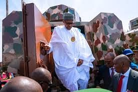 Buhari Inaugurates First-Ever Nigerian Made War Vehicle