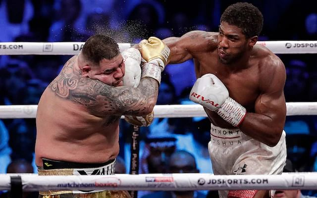 """I Will Knockout Wilder Before 7th Round,"" Anthony Joshua Boasts"