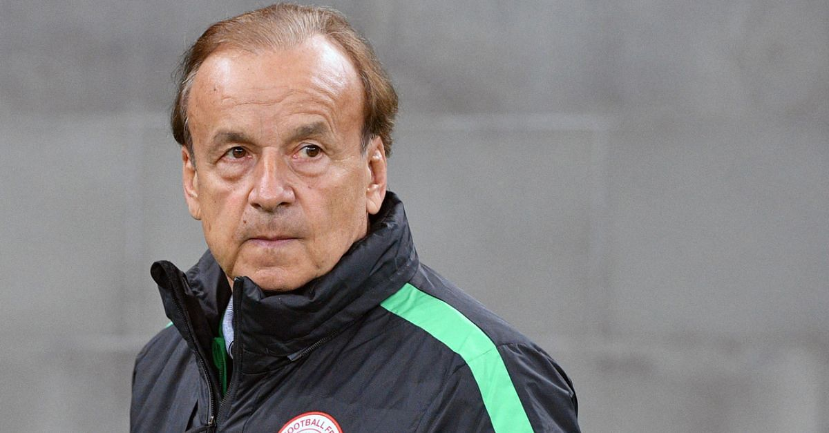Rohr Bashed By NFF President For Publicly Demanding For His Salary