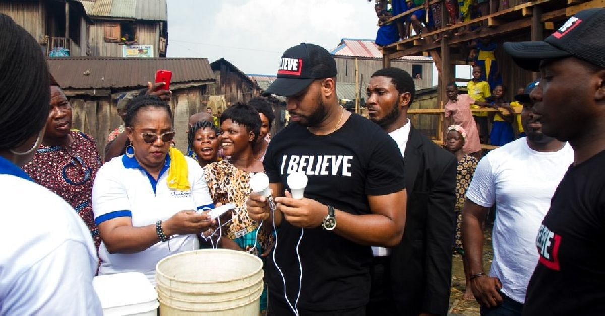 US-Based David Imonitie Launches Foundation, Reaches Out To Orphans In Makoko